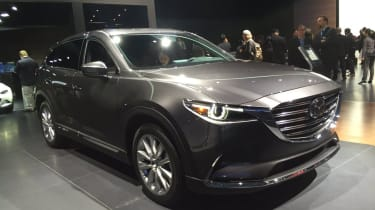 Mazda CX-9 2016 - new york front quarter