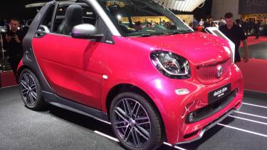 Smart ForTwo Cabrio electric drive - paris front