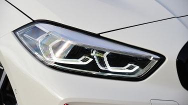 BMW 128ti - headlight