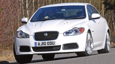 Jaguar XFR front