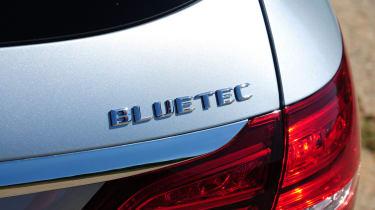Mercedes C250 BlueTEC Estate AMG Line badge