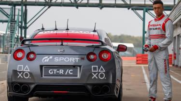 Remote control Nissan GTR/C - pits Jann Static
