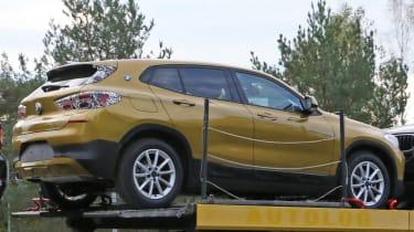 BMW X2 spy shot - rear static