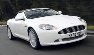 Aston DB9 Volante Morning Frost