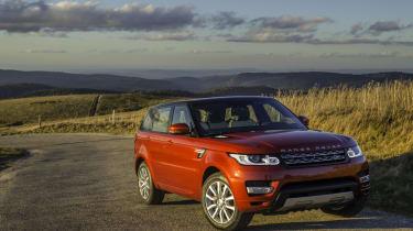 Range Rover Sport SDV8 front static