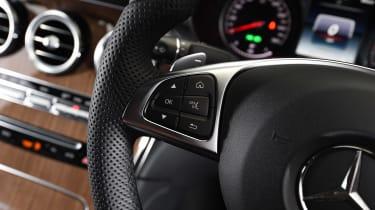 Mercedes GLC Coupe - steering wheel detail