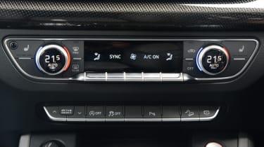 Audi SQ5 - central controls