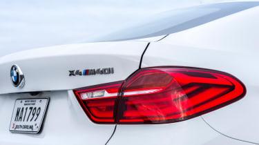 BMW X4 M40i - rear light