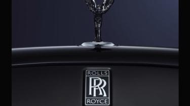 Rolls Royce Black Badge badging