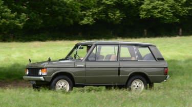Old Range Rover Velar - side action
