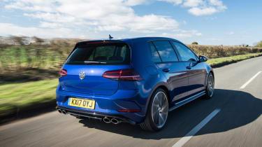 VW Golf R - rear