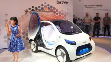 Smart Vision EQ ForFour concept - reveal