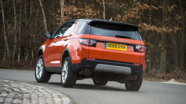 Land Rover Discovery Sport long-term - rear cornering