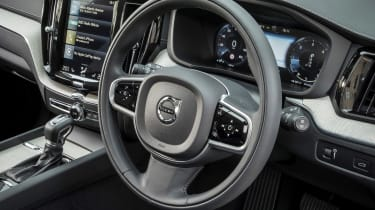 Volvo XC60 D4 - steering wheel