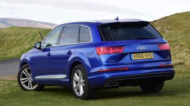 Used Audi Q7 - rear