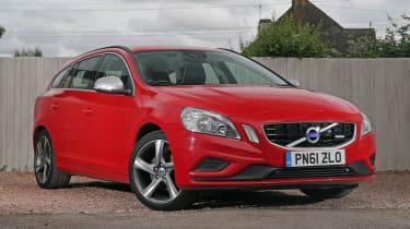 Used Volvo V60 - front