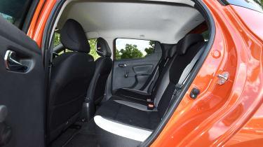 Nissan Micra long-term review - rear seats