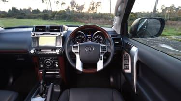 New Toyota Land Cruiser 2016 interior