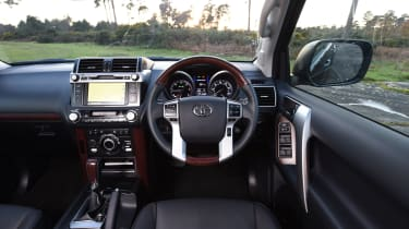 New Toyota Land Cruiser 2016 interior