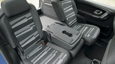 Roomster rear seat