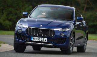 Maserati Levante - front cornering