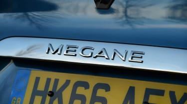 Renault Megane Sport Tourer - Megane badge
