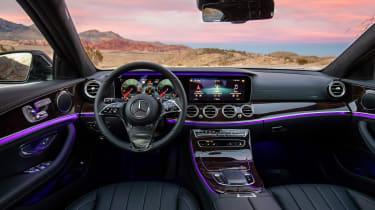 2020 Mercedes E-Class - Las Vegas interior