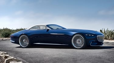 Vision Mercedes-Maybach 6 Cabriolet - side static