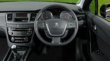 Peugeot 508 SW interior