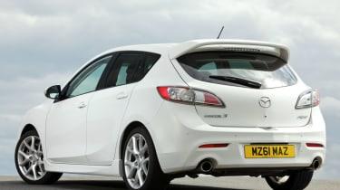 Mazda 3 MPS rear three-quarters