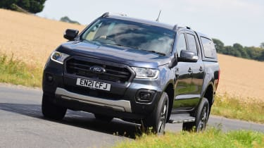 Ford Ranger Wildtrack long termer - first report front