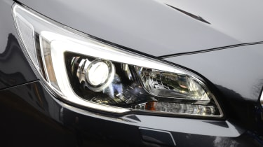 Long-term test review: Subaru Outback headlight