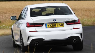 BMW 3 Series - rear cornering