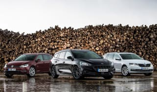 ford focus estate vs skoda octavia estate vs vw golf estate header