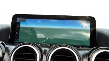 Mercedes-AMG GT R Roadster - sat-nav
