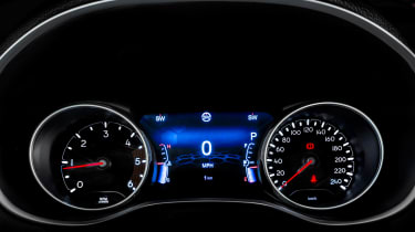 Jeep Compass 2017 - instruments