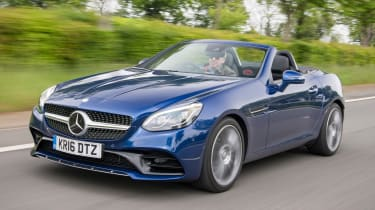 Used Mercedes SLC - front action