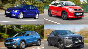 Best new cars for under £200 per month - header