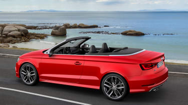 Audi S3 Cabriolet 2014 rear tracking