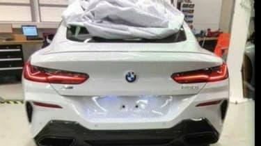 BMW 8 Series Leaked