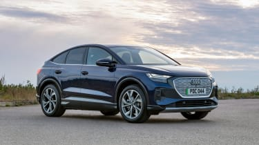 Audi Q4 e-tron Sportback - static