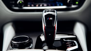 New BMW M5 - gear lever
