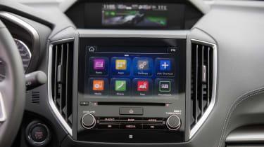 Subaru Impreza 2017 - infotainment