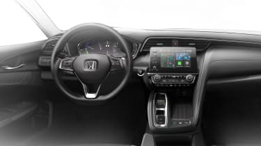 Honda Insight Prototype - dash