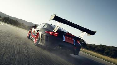 Porsche 911 GT2 RS Clubsport - rear cornering