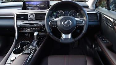 Lexus RX 450h - dash