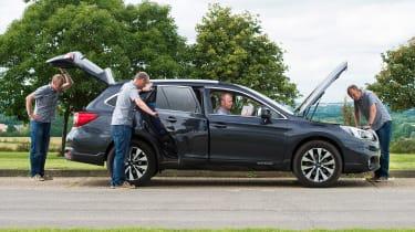 Subaru Outback - long term test final report header