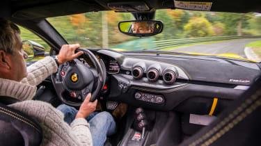 Ferrari F12tdf - driving