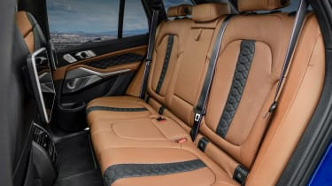 BMW X5 Competition - rear seats