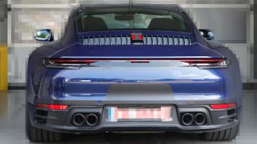Next generation Porsche 911 wall